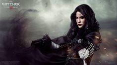 A stunning Yennefer cosplay by Eve Beauregard.