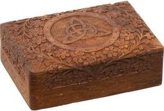 Triquetra - Carved - Storage Box