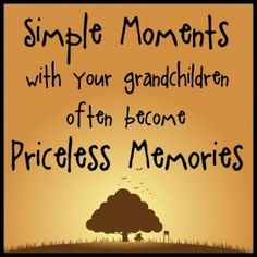Simple moments with Grandkids become priceless memories. Description from uk.pinterest.com. I searched for this on bing.com/images