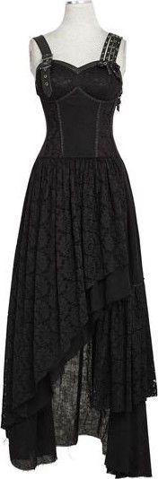 Punk Rave - Akasha Black Dress - Buy Online Australia Beserk