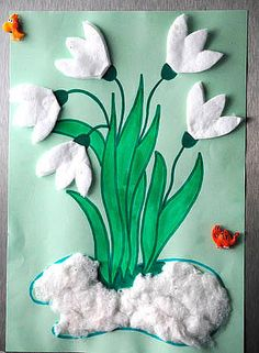 frühling kindergarten You are in the right place about kindergarten art projects easy H Spring Crafts For Kids, Paper Crafts For Kids, Craft Activities For Kids, Preschool Crafts, Easter Crafts, Diy For Kids, Diy And Crafts, Christmas Crafts, Kindergarten Art Projects