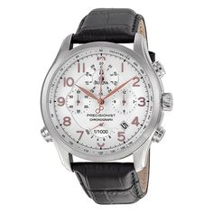 This men's watch from #Bulova has a classic and elegant design. Perfect for dressing up or down.  #watch #men