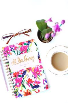 All The Things Notebook, 2015 Resolutions, Ashley Brooke Designs