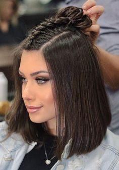 Pinterest: DEBORAHPRAHA ♥️ Flavia pavanelli braided hair style