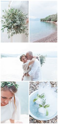 The evening light at Pasoumaki beach was perfect for the intimate and personal Meganisi vow renewal of Nikki and Darren. This little Ionian island paradise holds special meaning as it was also the location chosen by the Bride's parents to celebrate their own 40th wedding anniversary. Planned by Lefkas Weddings and Maxeen Kim Photography. #destinationvowrenewal #vowrenewalgreece
