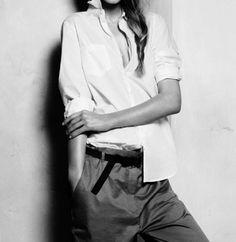 Borrowed from Boys Look stylish ... sexy ..... understated chic   #karinarussianpowpow