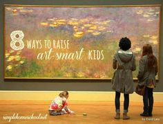 "Laura Grace Weldon shares tips and ideas for raising your kids ""art-smart."""