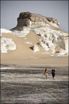 Egypte - désert Blanc   lien diaporama lien flickriver A l'o…   Flickr