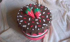 .: Caja de chocolate con fresas