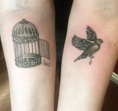 Bird Free From The Cage | Best tattoo ideas & designs