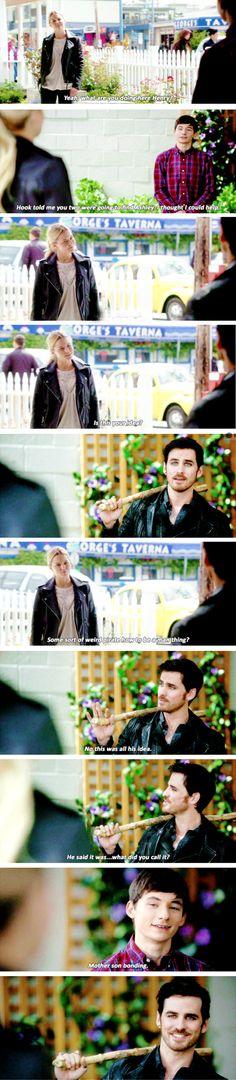 "Emma, Henry and Killian - 6 * 3 ""The Other Shoe"" #captainswancobra"