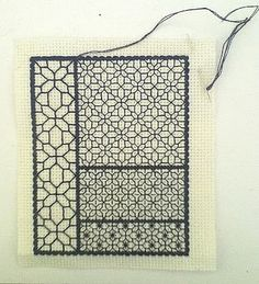 Byrd's Nest: Blackwork Fill