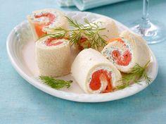 Unser beliebtes Rezept für Lachs-Sandwichröllchen und mehr als 55.000 weitere kostenlose Rezepte auf LECKER.de.