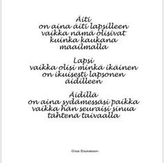 Poem Quotes, Poems, Finland, Wise Words, Parents, Mood, Life, Dads, Poetry