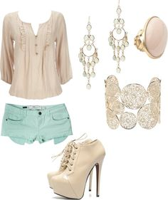 Cute summer outfit on Polyvore