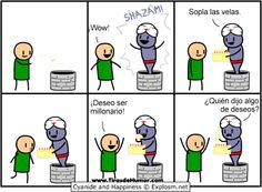 Cyanide and Happiness - Pozo de los deseos 2