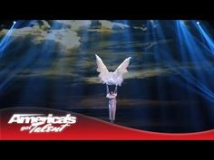 ▶ Kenichi Ebina - Mysterious and Dark Dance With Angel Wings - America's Got Talent 2013 - YouTube