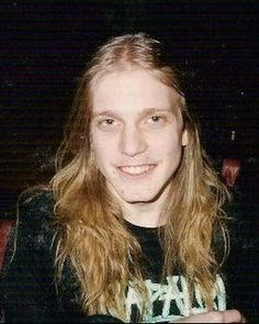 """Per Yngve Ohlin, aka """"Dead"""", the Swedish frontman of Norwegian black metal act Mayhem. He committed suicide age 22. RIP"""