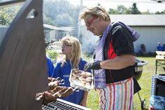Am Donnerstag, den 28.08.2014 haben die Kinder im Ferienpark Feuerkuppe zusammen mit Deutschlands Grill-Experten Nr. 1 und Grill-Weltrekordler Andreas Rummel viele verschiedene Speisen am offenen Feuer zubereitet und probiert.