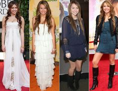 """Na época do filme """"A Última Música"""", Miley adorava abusar de vestidos de estilo boho-chic, mais soltinhos e com direito a franjas e botas country!"""