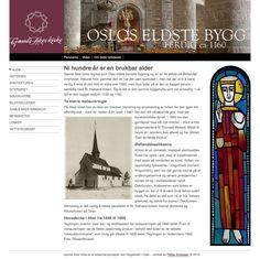 Gamle Aker kirke by Petter Andresen, via Behance