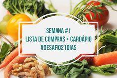 Hoje eu vim compartilhar a minha lista de compras e cardápio para a semana #1 do nosso desafio de 21 dias comfoco na alimentação saudável. Acho que a maior dúvida é o que comer quando decidimos emagrecer, então espero que essa lista possa ajudar você que procura algo rápido, barato, nutritivo e funcional. 😉 Essa …