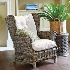 Charleston Wing Back Chair