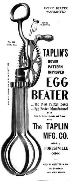 Dover egg beaters