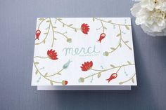 Beaucoup de Fleurs by carly reed at minted.com