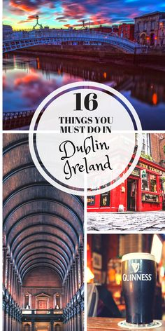 If you are lucky enough to visit Ireland , you are most likely going to start Dublin. Here are our recommendations of the best things to do in Dublin taken from our four different visits to one of our favourite city's on earth.