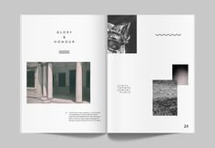 I like the clean and minimal aesthetic for this layout. it is simple and easy to understand Portfolio Book, Portfolio Design, Graphic Design Print, Graphic Design Typography, Editorial Layout, Editorial Design, Lookbook Layout, Minimalist Layout, Page Layout Design