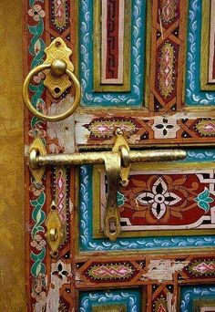 porte au Maroc Marocco