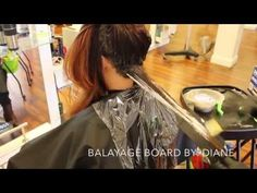 Step by Step Balayage Ombre Tutorial - YouTube