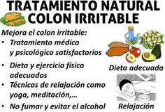 dieta para colon o intestino irritable, alimentos prohibidos y recomendados