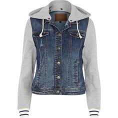Hooded Jean Jackets For Women TVHxqS