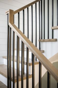 California Duplex Home Design Staircase metal spindles The metal spindles are custom I love this clean and timeless look Staircase metal spindles Staircase metal spindle ideas Staircase metal spindles Modern farmhouse Staircase metal spindles House Staircase, Staircase Remodel, Staircase Makeover, Staircase Ideas, Staircases, Bannister Ideas, Entryway Stairs, Railing Ideas, Metal Spindles Staircase
