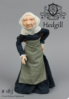 OOAK Art Doll Sculpture  Hedgill  Fairy by Ksheyna by nightswood