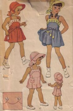 1950s childrens sewing patterns - Google Search