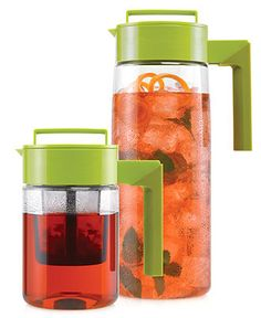 Takeya Iced Tea Maker, Flash Chill Tea Maker and Chilling Pitcher Set - Kitchen Gadgets - Kitchen - Macy's