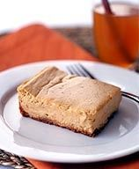 Pinner says ~ Weight watchers pumpkin spice cheesecake bars... One of the best WW recipes hands down, so delicious!! Actually tastes like a real dessert.