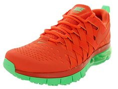 Nike Mens Fingertrap Max Nrg Trf OrangeTrf OrngLt Lcd Grn Training Shoe 10 Men US *** Check out this great product.