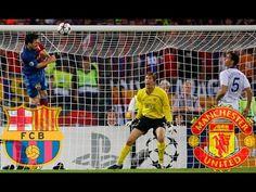 Legendary match Barcelona - Manchester United 2009