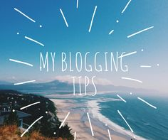 Blogging tips - something I learnt along the way