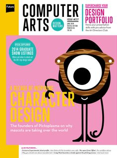 #Computer #Arts Magazine 227. A decade od #inspiring. #character #design. The founders os #Pictoplasma on why mascots are taking over the world.