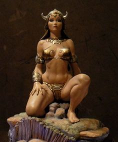 Dejah Thoris sculpture