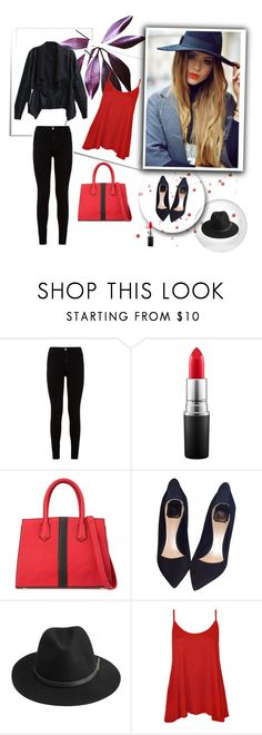"""Bez naslova #11"" by zerina-okanovic ❤ liked on Polyvore featuring 7 For All Mankind, MAC Cosmetics, Christian Dior, BeckSöndergaard and WearAll"