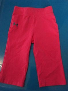 Under Armour Pink Pants Girls SIze 6/9 Months Pink Under Armour Pants Girls #UnderArmour #Pants
