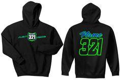 Motocross Hoodie Sweat Shirt Just Ride MX Moto Dirt by JUSTRIDE928 #kawasaki #supercross #tomac #motocross #moto