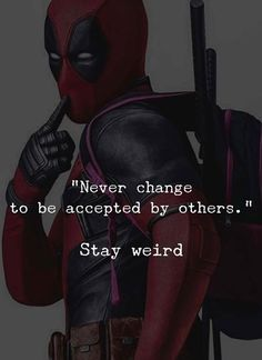 Never change to be accepted by others.. via (http://ift.tt/2kFx69F)