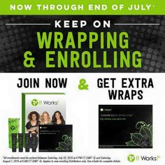 Yayay!! So excited they extended our #bogo wrap deal for all new distributors!! Turn your $100 into $200 STAT‼️Man, I wish this deal was around when I started!! Call/text 502.851.7518